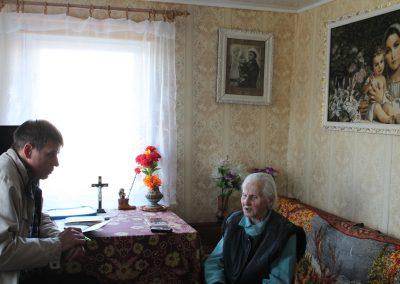 Ratujemy przed zapomnieniem opowieści Sybiraków. Historyk Józef Porzecki rozmawia z Panią Jadwigą. Zbieramy materiały do serwisu www.SYBIRAK.pl
